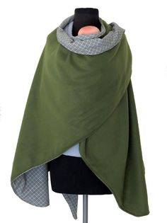 Check out this beautiful Babywearing Coat & Maternity Wrapping Poncho by AnandaBabyCarriers, $69.99