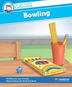 $5.95 Bowling - Part of the Blue Series: Marble, Pencil, and Ruler play a game of bowling. But something goes wrong!