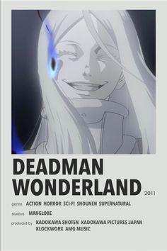 Animes To Watch, Anime Watch, Otaku Anime, Manga Anime, Collage Mural, Deadman Wonderland, Anime Suggestions, Anime Titles, Anime Reccomendations