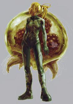 """Zero Suit Samus"" by fallout161.deviantart.com on @DeviantArt"