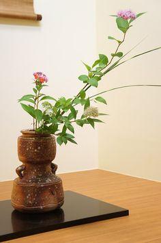 Flower arrangement for a Tea ceremony