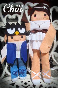 muñeca doll muñecos personalizados de tela doll * Chiii