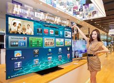 Samsung announces 75inch ES9000 smart TV for Korea