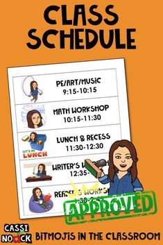 Bitmoji in the Classroom Cassi Noack Bitmoji in the Classroom Classroom Signs, Future Classroom, Classroom Themes, Classroom Organization, Classroom Management, Behavior Management, Google Classroom, Organizing, Fractions Équivalentes