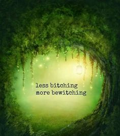 ✨Less Bitching More Bewitching✨ GypsiMoon6 - Pinned by The Mystic's Emporium on Etsy