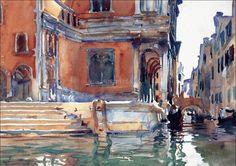 John Singer Sarget #watercolor jd
