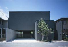 Casa en Moriyama, proyectada por el arquitecto Akira Sakamoto - Interiores Minimalistas