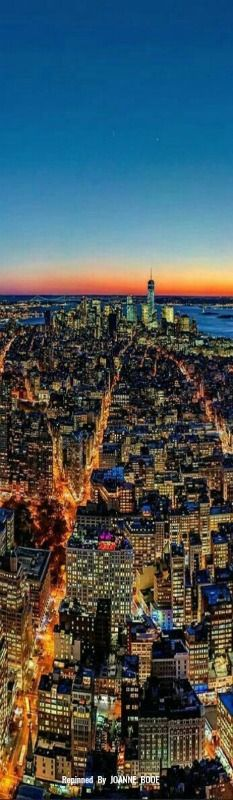 Manhattan skyline, New York City, New York