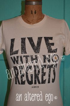 LIVE WITH NO REGRETS-live  flower