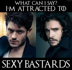 I made a thing! Iwan Rheon & Kit Harington