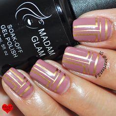 Madam Glam Stylishly Fashionable & MoYou London Holy Shapes 03
