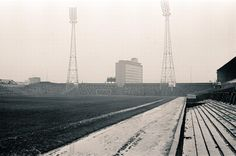 View of the Gallowgate End terraces of St James Park in 1968 #NewcastleUnited #NUFC