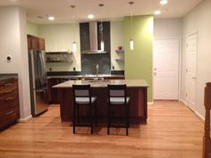 Designed by Kitchen Planners in Rockville, MD