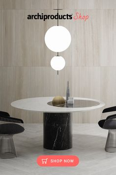Proiezioni Round Black and White Marble Dining Table Design by Elisa Ossino Salvatori. Part of the Proiezioni collection, this contemporary dining table merges sculpture with design for a strikingly elegant silhouette. #marbletable #marbletabledining #marbletablelivingroom #marbletabletop #marbletabledecor #marbletabledesign @salvatori_official #salvatori #tabledecor #marbletopdiningtableluxury