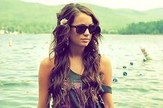 wavy hair. summer!