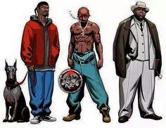 Snoop pac and big