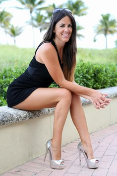 Our friend of the site, International glamour model Claudia Romani, is looking fabulous as ever in these new photos wearing a short little black mini dress. Description from moejackson.com. I searched for this on bing.com/images
