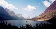 St. Mary's Lake in Glacier National Park so pretty!