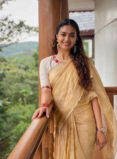 Keerthi Suresh Latest Photos #KeerthiSuresh #actress #new #saree #kerala9 #NewLook