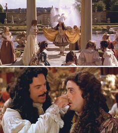 "Restoration (1995) Starring: Robert Downey, Jr. as Robert Merivel and Sam Neill as King Charles II. – ""I am King of the wind!!!"" ~ Robert Merivel."
