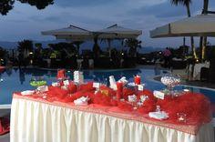 La confettata Blue Marlin, Confetti, Restaurant, Club, Table Decorations, Home Decor, Decoration Home, Room Decor, Diner Restaurant