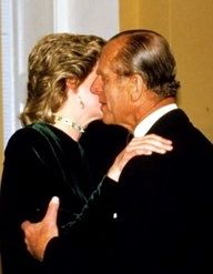 Diana and Prince Philip....I just don't know about that!!