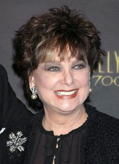 """Suzanne Pleshette -- (1937-2008).  Television, Film & Voice Actress. She Appeared in film """"Alfred Hitchcock's: The Birds"""" and played Emily Hartley in """"The Bob Newhart Show"""". She was married to Tom Poston, She was treated for Lung Cancer. She was hospitalized for Pulmonary Infection and Pneumonia. She died of Respiratory Failure at her home."""