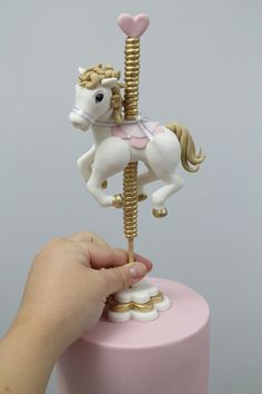 Carousel horse tutorial  by Sharon Wee Creations in Sydney, Australia
