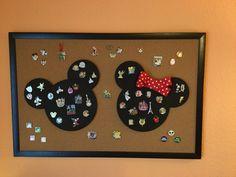 Disney Trading Pin display board!