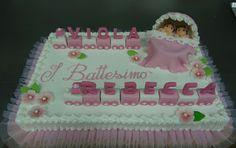 Pasticceria Bergamo Oscar Blog: Torta battesimo gemelle