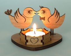 A personal favourite from my Etsy shop https://www.etsy.com/uk/listing/509144685/personalised-engraved-tea-light-candle