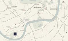 Map of Hurlingham Gate, London