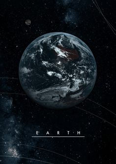 Earth póster.
