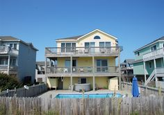Twiddy Outer Banks Vacation Home - Always Together - Corolla - Oceanfront - 6 Bedrooms