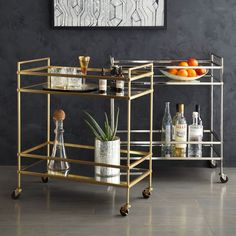 It seems everyone is bonkers about bar carts at the moment.  Learn more here!!