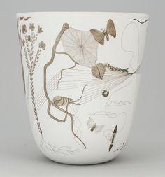Gustavsberg pottery |Stig Lindberg...last name is Lindberg..I think its a sign I should have it!
