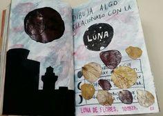 Destroza Este Diario/Wreck This Journal. Interpretación Metafórica de la 'Luna de Flores'. Fenómeno Natural ocurrido el 10 de Mayo del 2017.