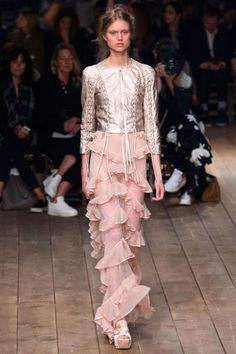Alexander McQueen Spring 2016. See all the best looks from Paris Fashion Week: