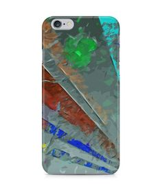 Colorful Straight Lines Abstract Picture 3D Iphone Case for Iphone 3G/4/4g/4s/5/5s/6/6s/6s Plus - ARTXTR0051 - FavCases