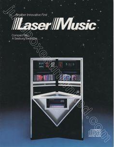 1986 Seeburg Crusader brochure-W. Digital Audio, Jukebox