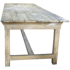 Old Recycled Timber Table