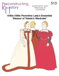 — Florentine Lady's Outfit Italian Renaissance Dress, Renaissance Fair Costume, Renaissance Clothing, Renaissance Fashion, Renaissance Era, Medieval Dress, Historical Costume, Historical Clothing, 16th Century Clothing