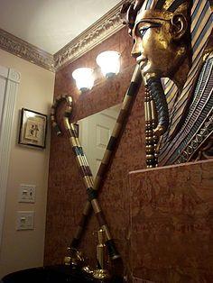 Egyptian 1 2 Bathroom Decorationsegyptian