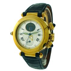 CARTIER Yellow Gold Special Edition Pasha Wristwatch with Alarm
