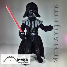 Darth Vader Amigurumi Star Wars by MirthaAmigurumis.deviantart.com on @deviantART