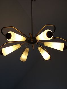 1950s 1960s MID-CENTURY MODERN ceiling lamp light EAMES NELSON era 107 | Flickr - Photo Sharing!