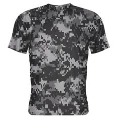 Gray+Digital+Camouflage+Shooter+Shirts