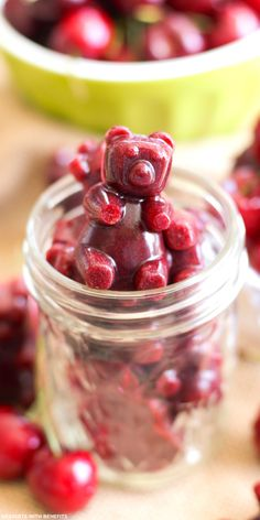 Healthy Very Cherry Fruit Snacks -- a new take on the old classic! These unique treats are packed with a sweet and enticing cherry flavor, an addicting yet natural sweetness, and soft and irresistible chew (refined sugar free, fat free, gluten free, dairy free)