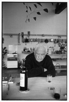 alesario:    alexander calder, 1970  © Henri Cartier-Bresson