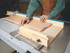 precision crosscut sled